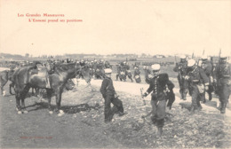 21 - CPA  DIJON Les Grandes Manoeuvres  L'ennemi Prend Ses Positions - Dijon