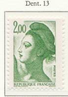 """PIA - FR -1987 : Uso Corrente : """"La Libertà"""" Di Gandon - (Yv 2484-86) - Francia"""