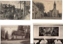 Lot De 8 Cpa Du Département Indre Villes Et Villages - France