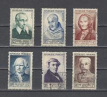 FRANCE.  YT  N° 945/950  Obl  1953 (voir Détail) - Oblitérés