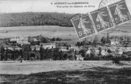 21 - CPA  AUBIGNY LES SOMBERNON Vue Prise Du Chateau De Civry - France