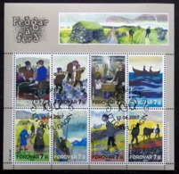 Faroe Islands  2007  MiNr.599-606   USED (O)    ( Lot  Mappe ) - Faroe Islands
