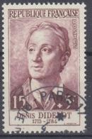 +France 1958. Célébrités. Yvert 1169. Oblitéré. Cancelled(o). - Oblitérés