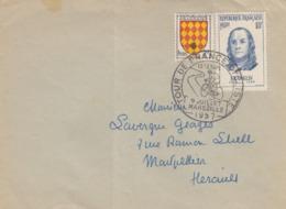 LETTRE. 9 JUILLET 1957. TOUR DE FRANCE CYCLISTE 12° ETAPE MARSEILLE - Radsport