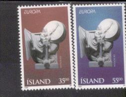 CEPT Frieden Und Freiheit Island 826 - 827  ** Postfrisch, MNH, Neuf - 1995