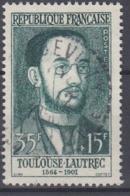 +France 1958. Célébrités. Yvert 1171. Oblitéré. Cancelled(o). - Oblitérés