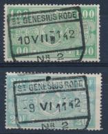 """TR 245 + 256 - """"ST-GENESIUS-RODE Nr 2"""" - (ref. 29.714) - 1923-1941"""