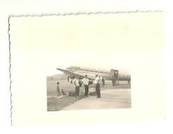"5901 "" AEREO DOUGLAS-DC3-COMPAGNIA AEREA JAT-JUGOSLOVENSKI AEROTRANSPORT "" FOTO ORIGINALE - Aviazione"