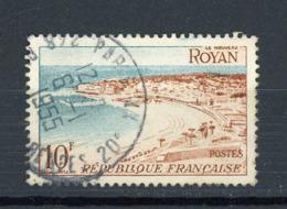 FRANCE - ROYAN - N° Yvert 978 Obli.  RONDE DE PARIS 1955 - Oblitérés