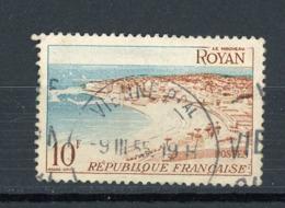 FRANCE - ROYAN - N° Yvert 978 Obli.  RONDE DE VIENNE 1955 - Oblitérés