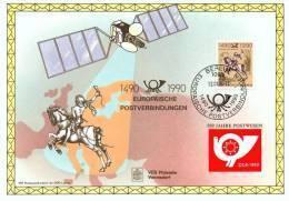 60006a - 1 - Carte Souvenir - Cs - Hk 2350 - Liaison Postale Européenne Innsbruck-Malines - Allemagne - Foglietti