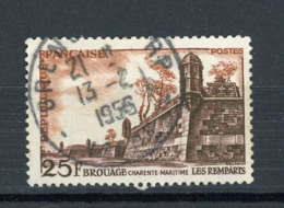 FRANCE -  BROUAGE - N° Yvert 1042 Obli. DE GRENOBLE 1956 - 1921-1960: Periodo Moderno