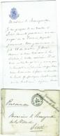 Courrier Vers Diest/Autographe D'Auguste Vergote, Gouverneur Du Brabant. 1891. - Autographes
