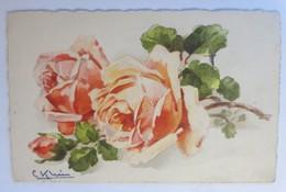 Künstlerkarte C. Klein, Blume, Rosen,  1930 ♥ (71020) - Klein, Catharina