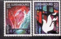 CEPT Nationale Feste Und Feiertage / Holiday Luxemburg 1451 - 1452 ** Postfrisch, MNH, Neuf - Europa-CEPT