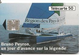 CARTE-50U-06/93-F3 72-SC7-CATAMARAN-COMMODORE EXPLOREUR-1e VAINQUEUR Du- TROPHEE J VERNE-Tour Monde A La Voile-TB E- - Sport