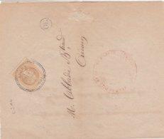 N° 28 S / Avertissement T.P. Ob T 24 Aucun 12 Mars 70,  Avertissement Pour Aucun - Marcophilie (Lettres)