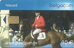 CARTE-PUCE-BELGIQUE-SPORT-Be108-2003-EQUITATION-TBE - Sport