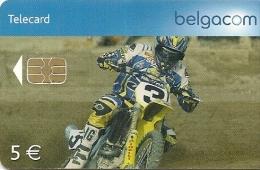 CARTE-PUCE-BELGIQUE-SPORT-Be119-2007-MOTO CROSS-3é Série-TBE - Sport