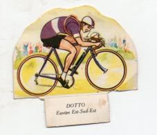 (sport Cyclisme)  Image GROSJEAN LA VACHE SERIEUSE :  DOTTO  (PPP21065) - Vieux Papiers
