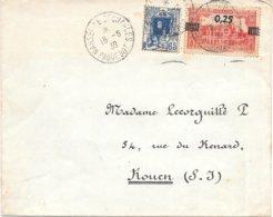 Lettre Algerie Oblitération Paquebot 1939 - Algérie (1924-1962)