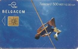 CARTE-PUCE-BELGIQUE-SPORT-Be77-2003-SAUT EN HAUTEUR-BE - Sport