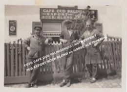 FOTO CAFE OUD PALINGSHUIS / ANTWERPEN ? / PUB EXPORT BOCK BLOND En HORSE ALE IMPERIAL - Antwerpen