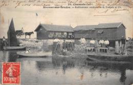 17 - CPA MORNAC SUR SEUDRE Etablissement Ostreicole - Francia