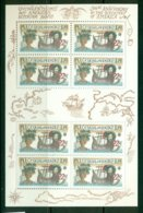 CZECHOSLOVAKIA 1992 Mi 3114 Mini Sheet** Europa CEPT - 500th Anniversary Of The Discovery Of America [A3934] - Europa-CEPT