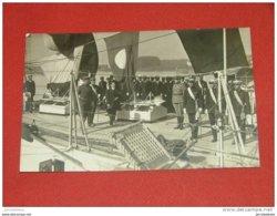 ANTWERPEN - ANVERS - Roi Albert I Visitant Un Navire De Guerre Italien En 1919 - Familias Reales