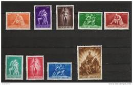 Zegels 701 - 709 ** Postfris - Unused Stamps