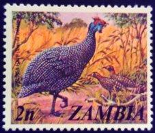 Zambie Zambia 1975 Animal Oiseau Bird Pintade Yvert 134 ** MNH - Zambia (1965-...)