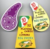 Jeu De 52 Cartes A Jouer ERGOMIA BIG INDEX - 2 Jokers Playing Cards  (523) - 54 Cartes