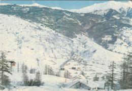 Carte Postale Des Années 70-80 Des Hautes-Alpes - Serre-Chevalier - Le Téléphérique - La Piste Rouge - Le Chalet Du CAF - Serre Chevalier