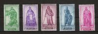 Zegels 737 - 741 ** Postfris - Unused Stamps