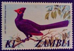 Zambie Zambia 1975 Animal Oiseau Bird Yvert 145 ** MNH - Zambia (1965-...)