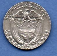 Panama  -  1/4 Balboa  1973   -  état  TTB+ - Panama