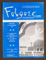 Aeronautica - Folgore - Rivista Paracadutisti D'Italia N. 8 - Settembre 1984 - Livres, BD, Revues