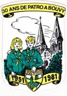 30 Ans De Patro à Bouvy 1951-1981 - Old Paper