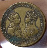 Jeton ALLEMAGNE. Saint Empire Romain.Franz I Kaizer / Alexander Kaiser V Russland. - Royal/Of Nobility