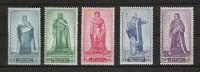 Zegels 751 - 755 ** Postfris - Unused Stamps
