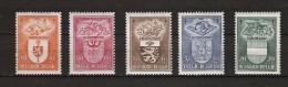 Zegels 756 - 760 ** Postfris - Unused Stamps