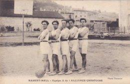 (52)   CREST - Equipe De Basket-Ball - Crest