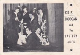 Carte Photo Orchestre (dédicacée) - Collections