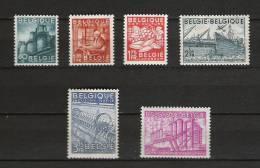 Zegels 761 - 766 ** Postfris - Unused Stamps