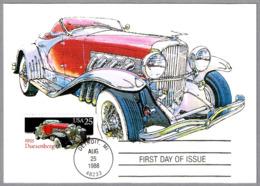 Automovil DUESENBERG 1935. Detroit MI 1988 - Coches