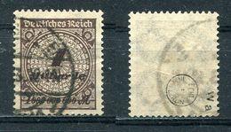 Deutsches Reich Michel-Nr. 325Wa Gestempelt - Geprüft - Gebraucht