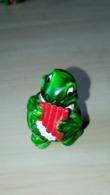 Figurine Kinder Surprise - Dorémi Flûte Pan - Tiny Tortues Ferrero 1991 - Monoblocs