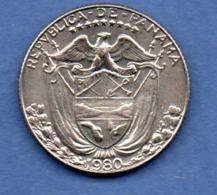 Panama  -  1/4 Balboa  1980   -  état  SUP - Panama