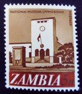 Zambie Zambia 1968 Musée Museum Yvert 42 ** MNH - Zambia (1965-...)
